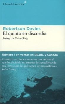 El quinto en discordia, de Robertson Davies
