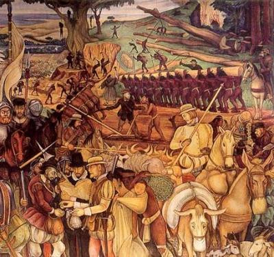 La Nueva España , la religión y la castellanización de los indios ( 4 ): Desaparición de los indios de la organización colonial