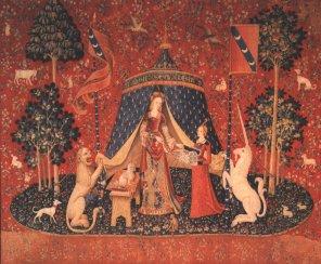 Los tapices de La Dama y el Unicornio del Museo de Cluny
