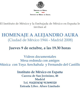 Homenaje a Alejandro Aura