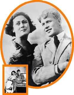 Isadora Duncan y Sergéi Yesenin